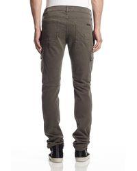 Hudson Jeans - Gray Greyson Cargo Biker for Men - Lyst