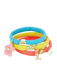 Juicy Couture | Multicolor Set Of 3 Charm Hairbands | Lyst