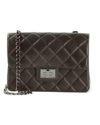 Designinverso | Black Quilted Shoulder Bag | Lyst
