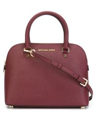 MICHAEL Michael Kors - Red Cindy Tote Bag - Lyst