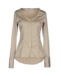 Aglini - Natural Shirt - Lyst