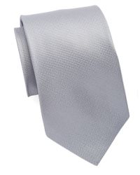 Burma Bibas | Metallic Silk Textured Tie for Men | Lyst