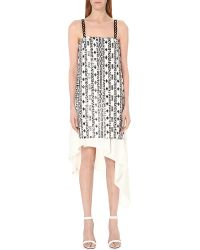 3.1 Phillip Lim | White Bohemian Sequin-embellished Silk Dress | Lyst