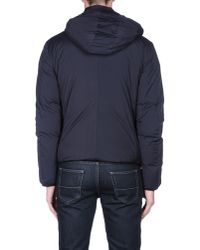 Emporio Armani | Blue Down Jacket for Men | Lyst