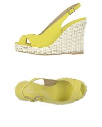 Castaner - Yellow Sandals - Lyst