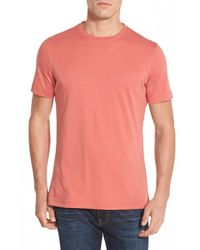 Robert Barakett | Pink Georgia Crew-Neck Cotton T-Shirt for Men | Lyst