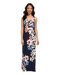 Tommy Bahama - Blue Conia Rose Long Dress - Lyst