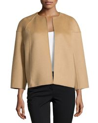 Michael Kors - Natural Bracelet-sleeve Jacket - Lyst