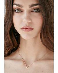 Forever 21 - Metallic Shashi Arrow Pendant Necklace - Lyst