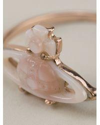 Vivienne Westwood - Pink Bianca Ring - Lyst