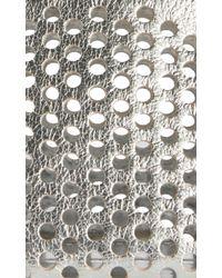 Rebecca Taylor - Metallic Loefflar Randall Small Perforated Cosmetic Bag - Lyst