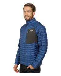 The North Face - Blue Thermoball™ Pullover for Men - Lyst