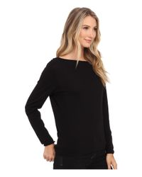 NIC+ZOE | Black Over The Moon Top | Lyst
