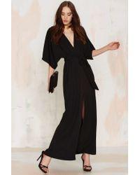 Glamorous | Tallulah Maxi Dress - Black | Lyst
