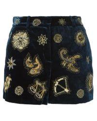 Emilio Pucci | Blue Shorts | Lyst