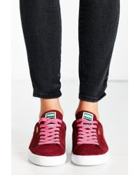 PUMA - Purple Suede Classic Plus Sneaker - Lyst
