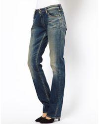 Denham | Blue Edge Boyfriend Jeans | Lyst