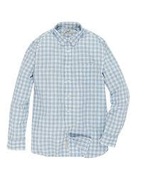 Grayers | Blue Shadow Gingham Plaid Sportshirt for Men | Lyst