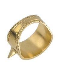 A Peace Treaty - Metallic Ring - Lyst