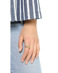 Snash Jewelry - Metallic New York Ring - Gold - Lyst