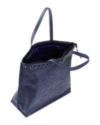Versace Jeans | Blue Handbag | Lyst
