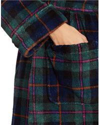 Lauren by Ralph Lauren | Blue Print Shawl Collar Robe | Lyst