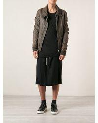 Rick Owens - Brown Lambskin Jacket for Men - Lyst