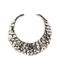 FLorian - Metallic Tangled Wooden Necklace - Lyst