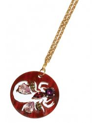 Matthew Williamson | Metallic Scorpio Pendant Necklace | Lyst