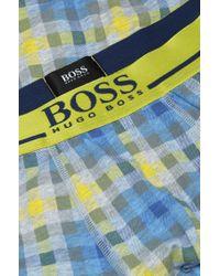 BOSS - Multicolor Cotton-blend Boxer Shorts: 'boxer 24 Print' for Men - Lyst