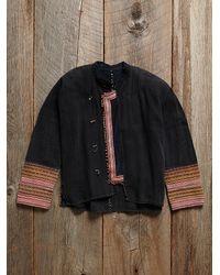 Free People - Multicolor Vintage Embroidered Jacket - Lyst