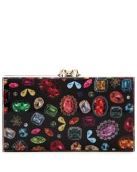 Charlotte Olympia | Multicolor Printed Pandora Clutch | Lyst