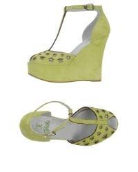 Fabi | Green Sandals | Lyst
