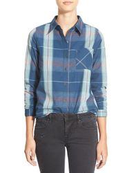 Rip Curl | Blue 'cabin Fever' Shirt | Lyst