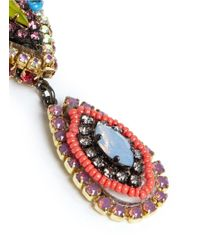 Erickson Beamon | Multicolor ''kumbaya' Crystal Drop Earrings | Lyst