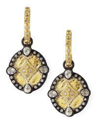 Armenta | Multicolor Shield Drop Earrings | Lyst