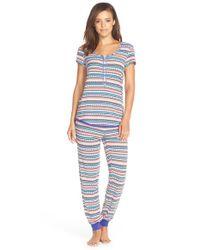 Kensie - Multicolor Print Jersey Pajamas - Lyst