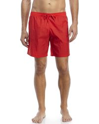 Moschino - Red Swim Trunks for Men - Lyst