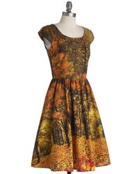 Folter Inc - Multicolor Sights To Season Dress - Lyst