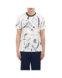 Loewe - Blue Men's Galaxy-print T-shirt for Men - Lyst