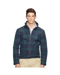 Ralph Lauren - Green Tartan Bi-swing Jacket for Men - Lyst