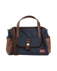 Napapijri - Blue Handbag - Lyst