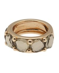 Pomellato | Metallic Gold Prasiolite Band Ring | Lyst