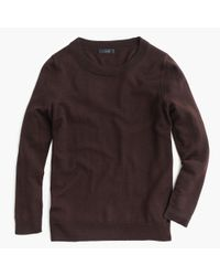 J.Crew | Brown Tippi Sweater | Lyst