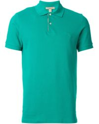 Burberry Brit - Green Classic Polo Shirt for Men - Lyst