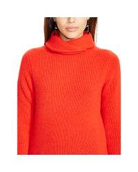 Polo Ralph Lauren - Red Wool-cashmere Sweater - Lyst