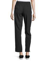 Marc New York | Black Wide-leg Drawstring Pants | Lyst