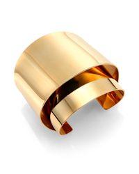 Chloé | Metallic Erika Cuff Bracelet | Lyst