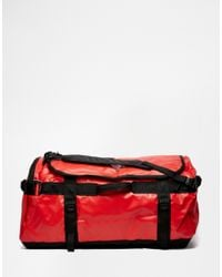 b4b8c484ea The North Face Base Camp Duffle Bag In Large in Red for Men - Lyst
