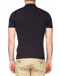 DIESEL - Blue Polo Shirt - 00Sgbk00Wdek-Chamelia Sweater for Men - Lyst